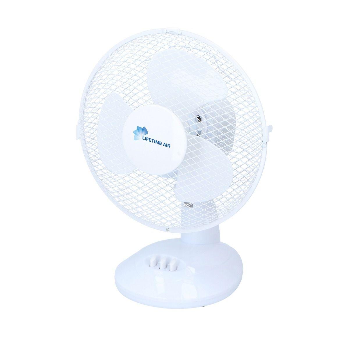 Ventilateur de table Lifetime Air, diamètre 7 cm