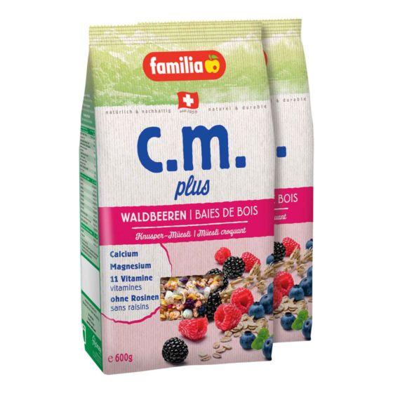 Familia C.M. Plus Waldbeeren 2 x 600 g