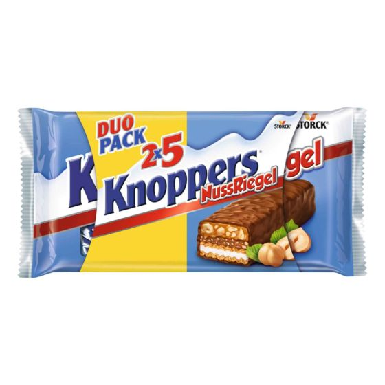 Knoppers NussRiegel 10 x 40 g