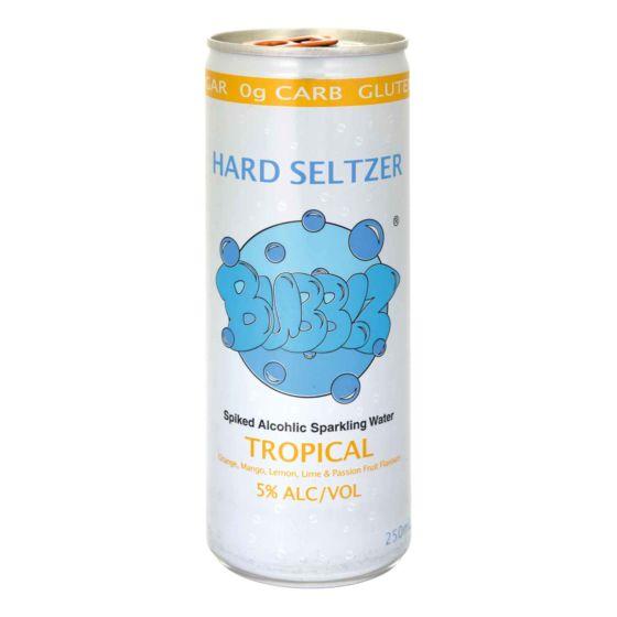 Hard Seltzer Bubblz - Tropical 24 x 25 cl