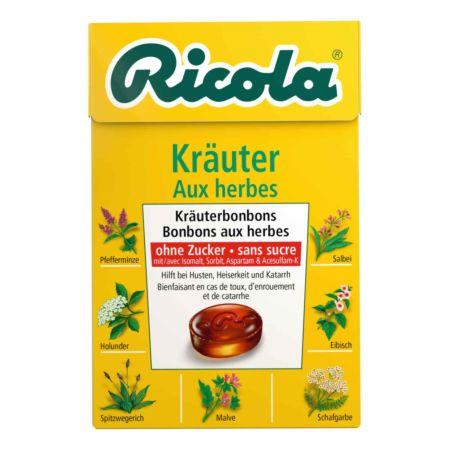 Ricola Bonbons Kräuter Box 50 g