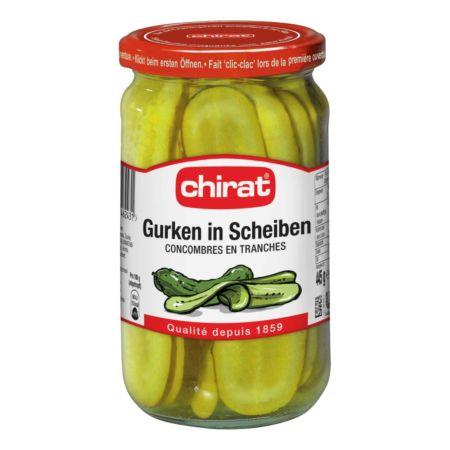 Chirat Cornichons in Scheiben 445 g