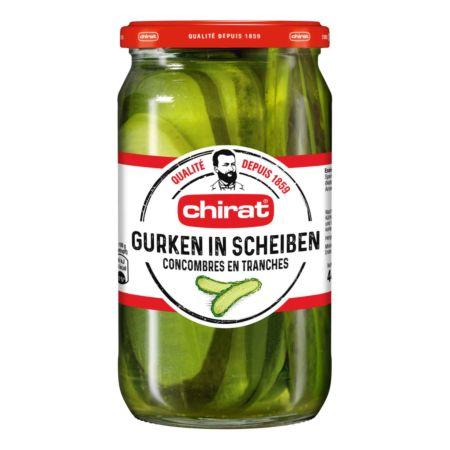 Chirat Gurken in Scheiben 445 g