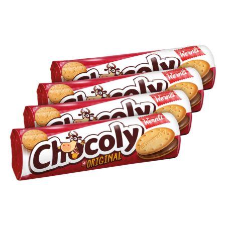 Wernli Chocoly Original 4 x 250 g
