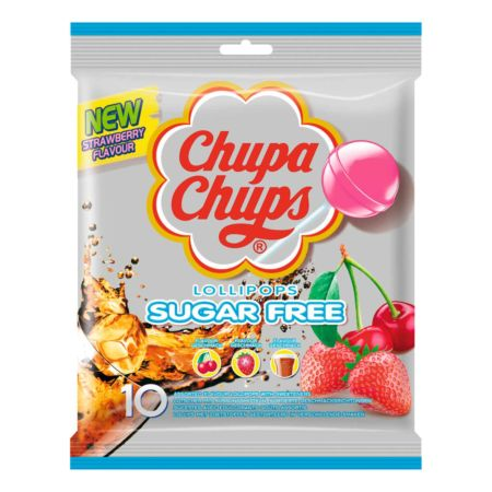 Chupa Chups Sugar Free 10er-Pack