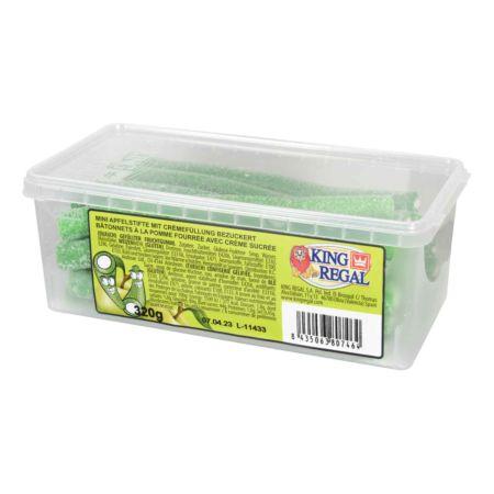 King Regal Mini Apfelstifte mit Crèmefüllung bezuckert 320 g