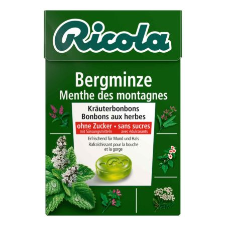 Ricola Bonbons Bergminze Box 50 g