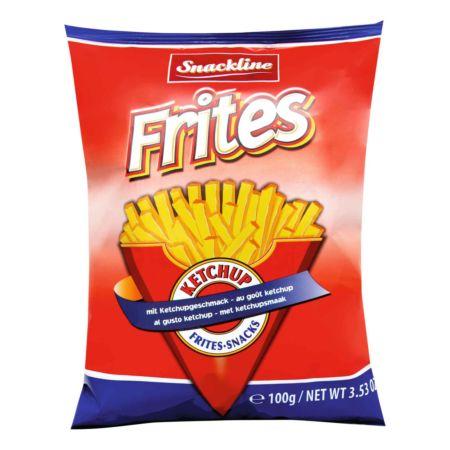 Snackline Frites-Snacks mit Ketchupgeschmack 100 g