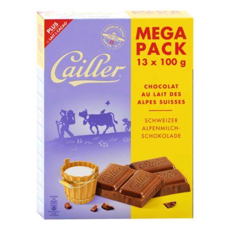 Cailler Megapack Milch 13 x 100 g