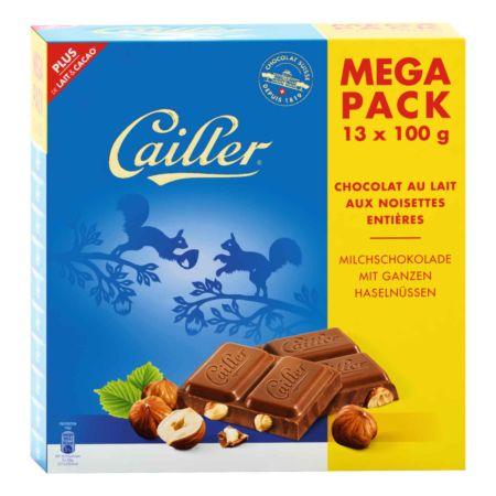 Cailler Megapack Haselnuss 13 x 100 g