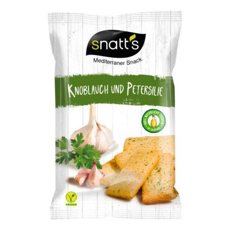 Snatt's Bocaditos Knoblauch & Petersilie 120 g
