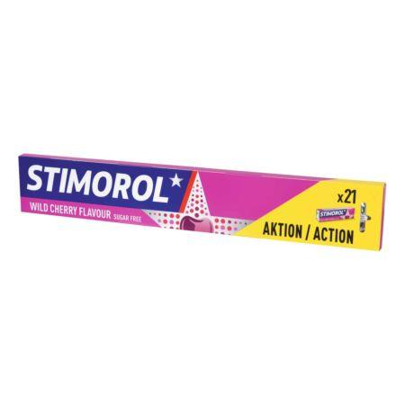 Stimorol wild Cherry 3 x 7 Stück