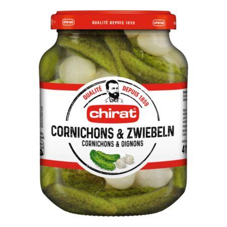 Chirat Cornichons & Zwiebeln 415 g