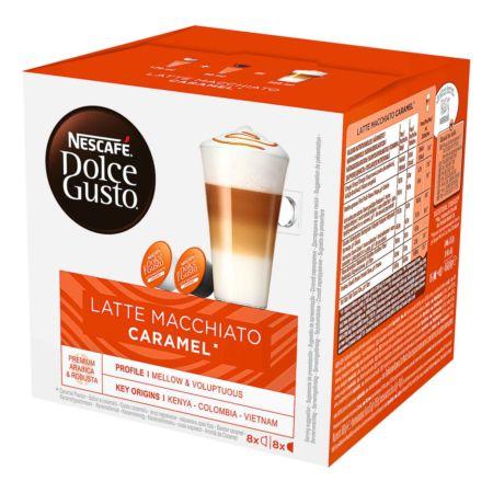 Nescafé Dolce Gusto Latte Macchiato Caramel 16 Kapseln