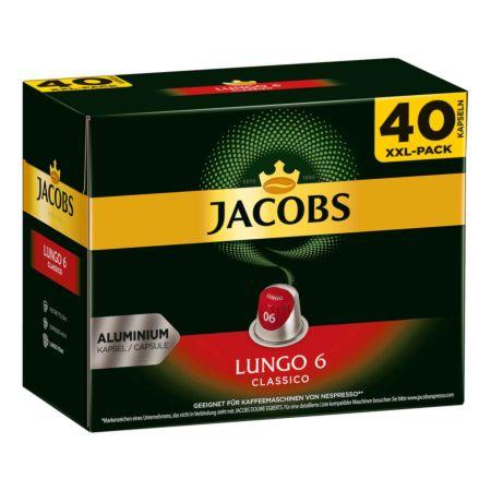 Jacobs - Lungo 6 Classico 40 Kapseln