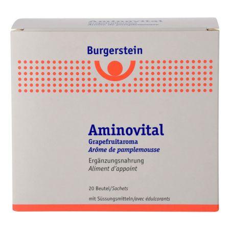 Burgerstein Aminovital mit Grapefruitaroma 20 Beutel
