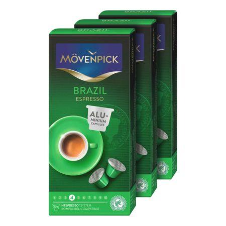 Mövenpick Kaffee Single Origin Auswahl 3 x 10 Kapseln