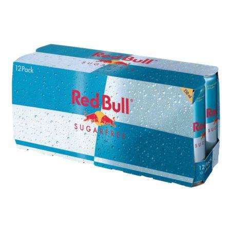 Red Bull Sugarfree 12 x 25 cl