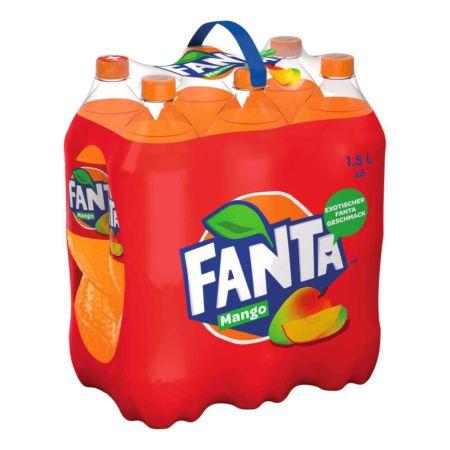 Fanta Mango 6 x 1,5 Liter