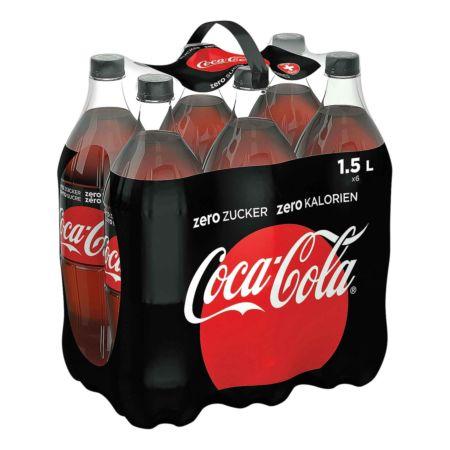 Coca-Cola Zero 6 x 1,5 Liter