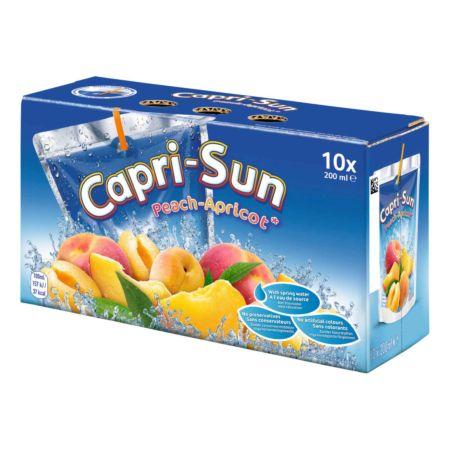 Capri-Sun Peach/Apricot 10 x 20 cl