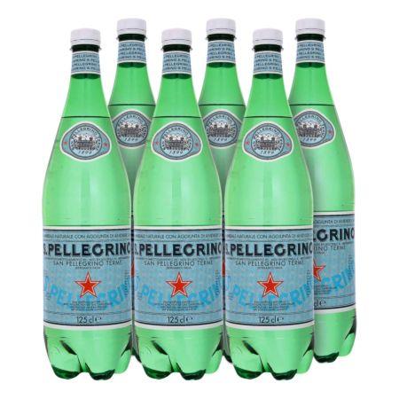 San Pellegrino Mineralwasser 6 x 1,25 Liter