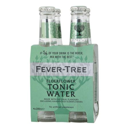 Fever-Tree Tonic Water Elderflower 4 x 20 cl
