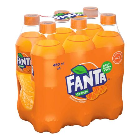 Fanta Orange 6 x 45 cl