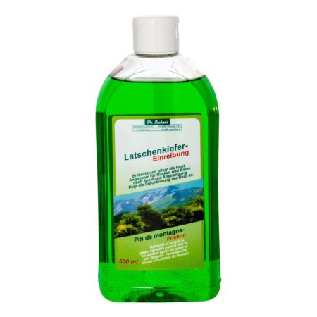 Dr. Sachers Latschenkiefer-Einreibung 500 ml