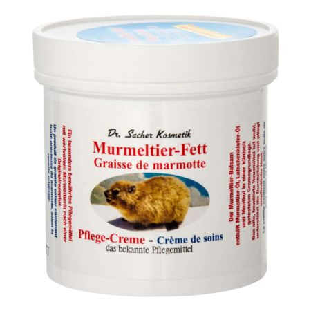 Dr. Sachers Creme Murmeltier-Fett Dose 250 ml