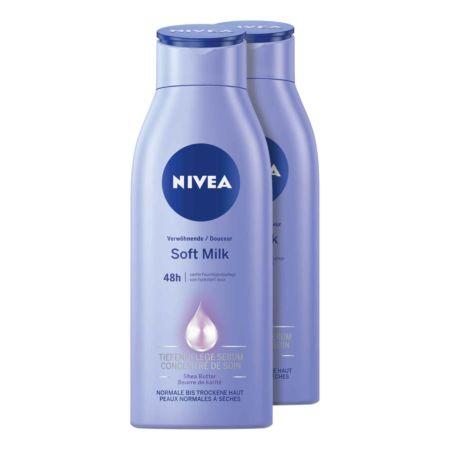 Nivea Verwöhnende Soft Milch 2 x 400 ml