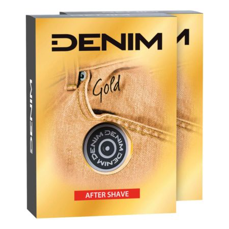 Denim After Shave Gold Duo 2 x 100 ml