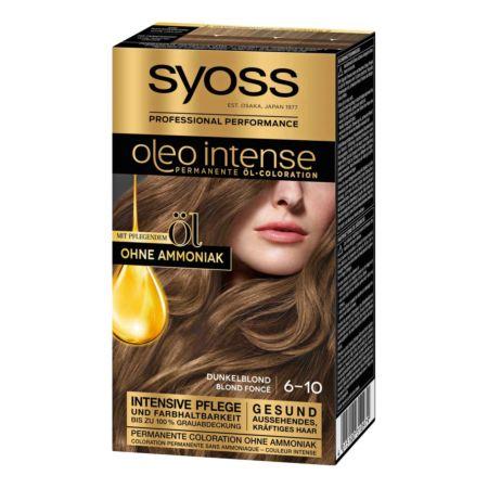 Syoss Oleo Intense Permanente Öl-Coloration Dunkelblond 6-10