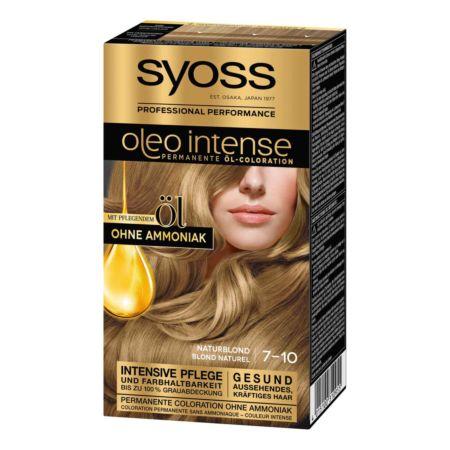 Syoss Oleo Intense Permanente Öl-Coloration Naturblond 7-10