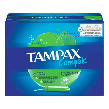 Tampax Compak Tampons Super 22 Stück