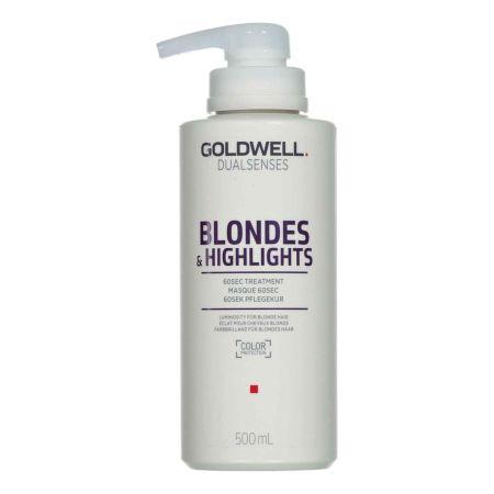 Goldwell Dualsenses Blondes & Highlights Pflegekur 500 ml