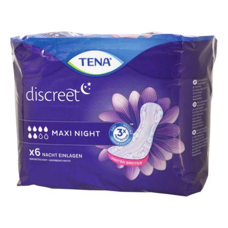 Tena Discreet Einlagen Maxi Night 6 Stück