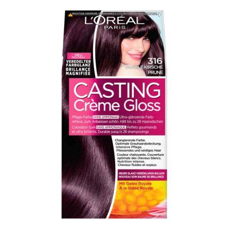 L'Oréal Coloration Casting Creme Gloss Dunkle Kirsche 316
