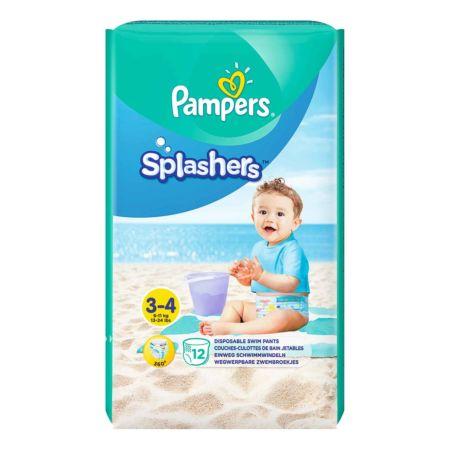 Pampers Schwimmwindeln Splashers Gr. 3-4 12 Stück