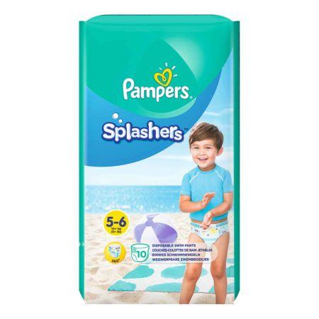 Pampers Schwimmwindeln Splashers Gr. 5-6 10 Stück