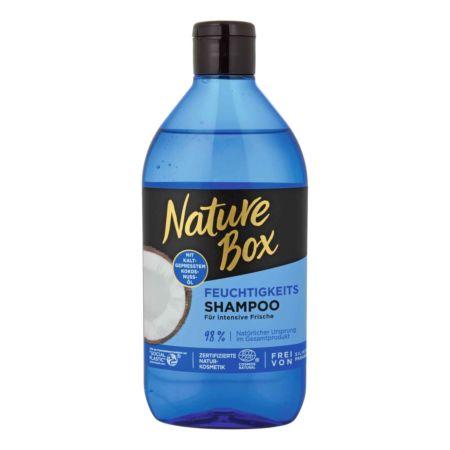 Nature Box Feuchtigkeit Shampoo Kokos 385 ml