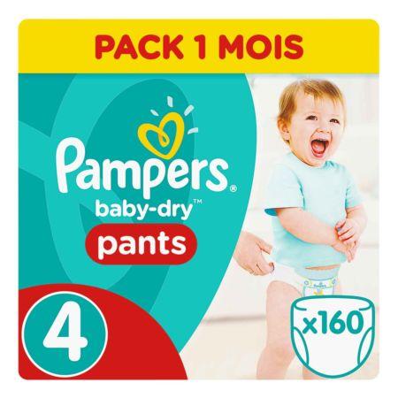 Pampers Gr. 4 Baby Dry Pants Maxi 9-15 kg Monatsbox 160er