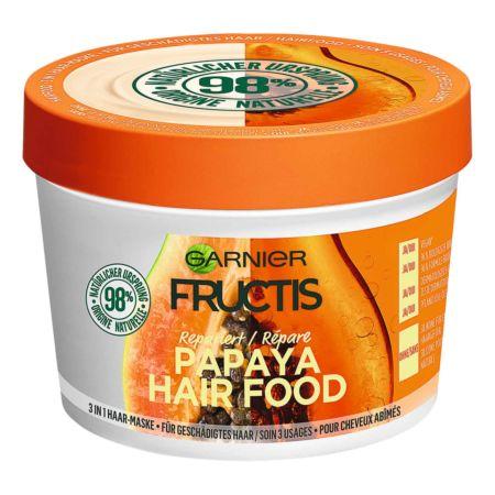 Garnier Fructis Haarmaske Papaya Hair Food 390 ml