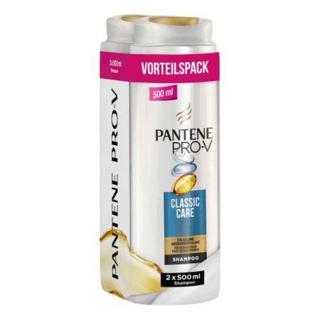 Pantene Shampoo Classic Care 2 x 500 ml