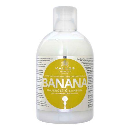 Kallos Shampoo Banana Multivitamin 1000 ml