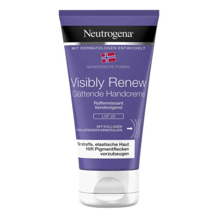 Neutrogena Visibly Renew Handcreme Elastizitätssteigernd - LSF 20 75 ml