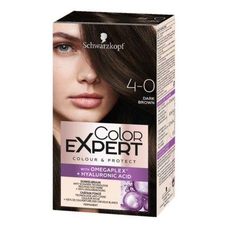 Schwarzkopf Color Expert Intensiv-Pflege Color-Creme 4-0 Dunkelbraun