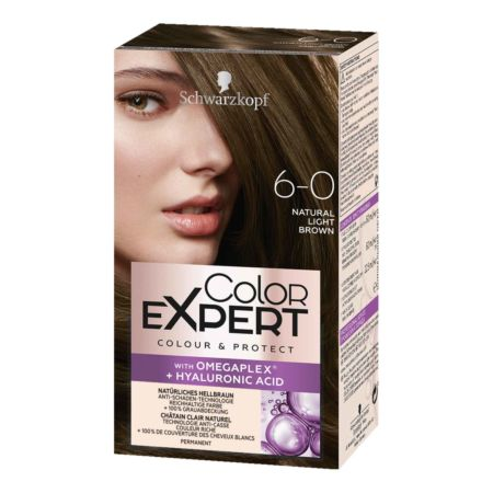 Schwarzkopf Color Expert Intensiv-Pflege Color-Creme 6-0 Hellbraun