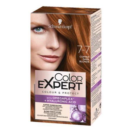 Schwarzkopf Color Expert Intensiv-Pflege Color-Creme 7-7 Kupfer Dunkelblond