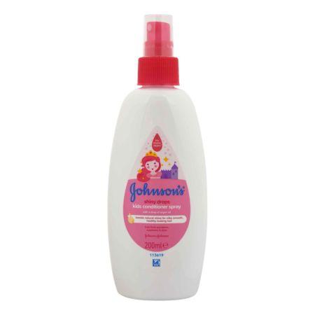 Johnson's Kids Conditioner Spray Shiny Drops 200 ml